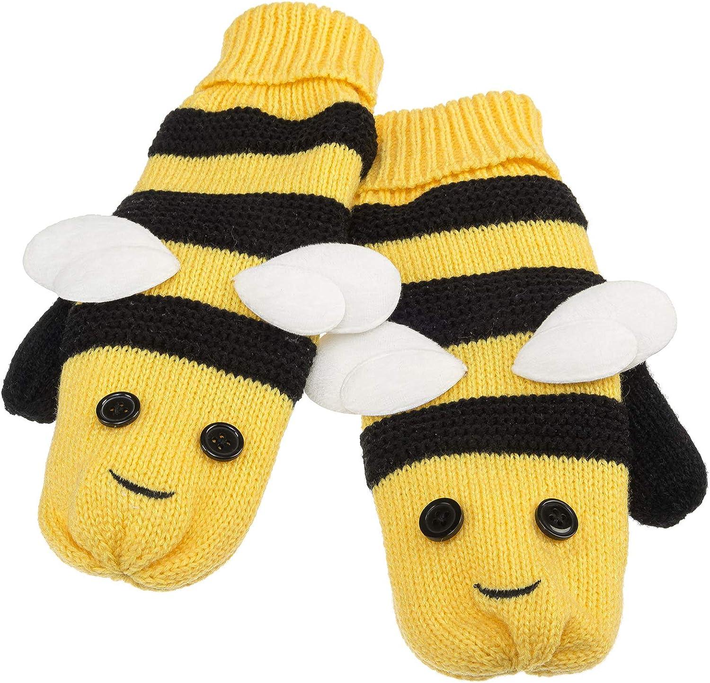 Bee Critter Mittens