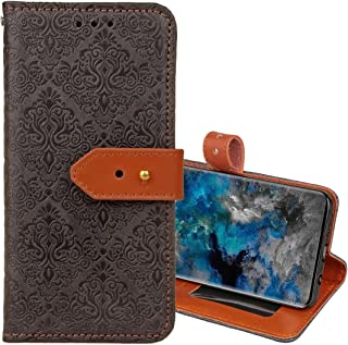 Protective Case Compatible with Samsung Compatible Samsung Galaxy S9 European Style Embossed Horizontal Flip Leather Case ...