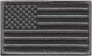 LEGEEON USA American Flag 2x3.25 Subdued Stars and Stripes Tactical Morale Hook&Loop Cap Patch