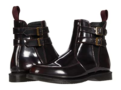Dr. Martens Flora Buckle Chelsea (Cherry Red Arcadia) Women