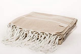Vie Healing Turks Havlu Crème Turkish Towel