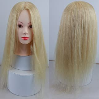 Best hairdressing dolls head real hair Reviews