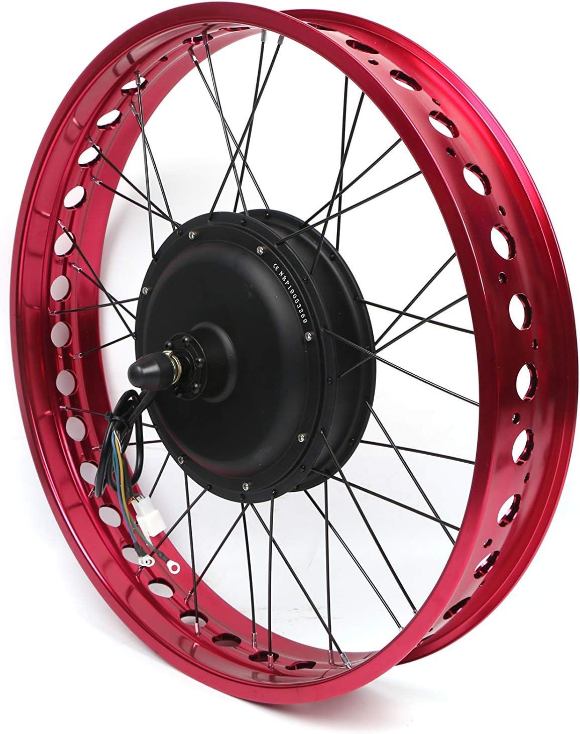 NBpower New product!! 48V 52V 1500W Rear Wheel online shopping Fat Kitï¼Electric Bike Tire