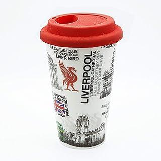 Sterling Product DWM010 Travel Double Wall Coffee Mug, Ceramic, 300 milliliters