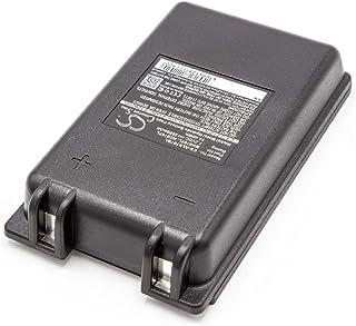 vhbw NiMH batería 2000mAh (7.2V) para Mando a Distancia para grúas, Control Remoto como Autec MH0707L, NC0707L