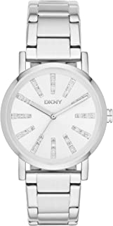 DKNY Soho Women's Silver Dial Stainless Steel Band Watch - NY2416