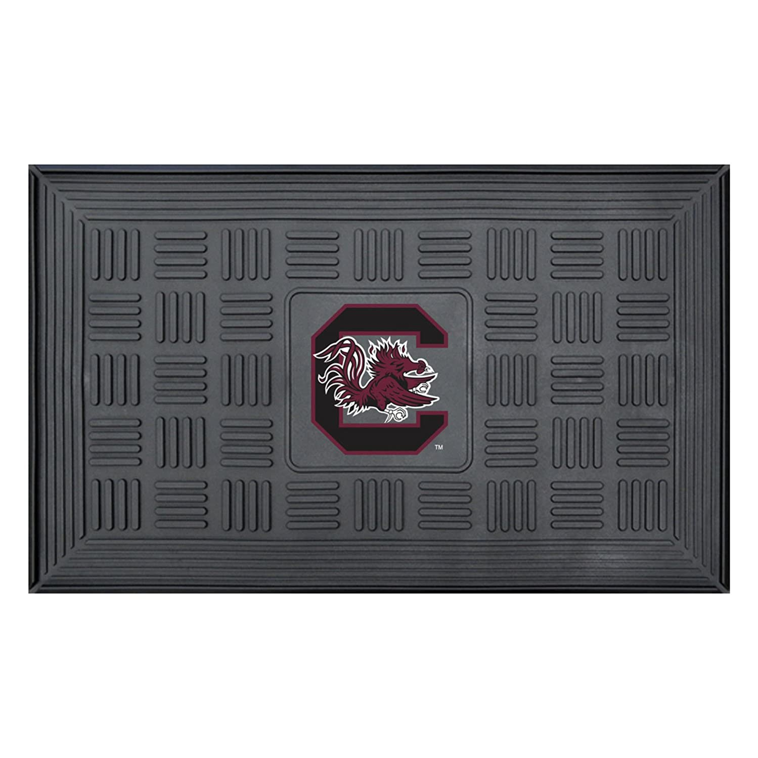 FANMATS NCAA University of South Carolina Gamecocks Vinyl Door Mat