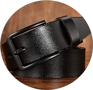 men's belt leather belt men male cow genuine leather strap