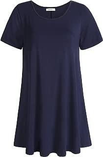 Women's Tunic Top Casual T Shirt for Leggings