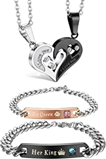 Best love necklaces for him and her Reviews