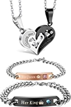 Best cute his and hers necklaces Reviews