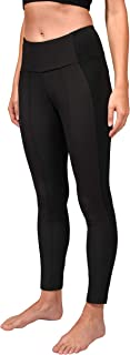 90 Degree By Reflex Stretch Woven Leggings with Back Zipper Pockets