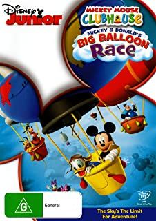 Mickey Mouse Clubhouse: Mickey & Donald's Big Balloon Race (DVD)