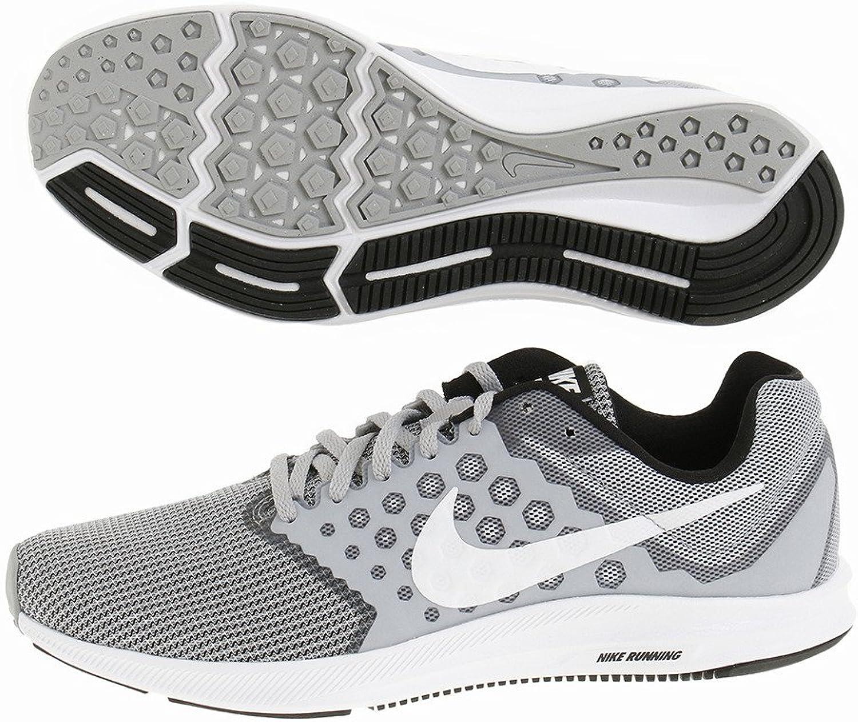 Nike 852459 007 Downshifter 7 Laufschuhe Grau 40.5