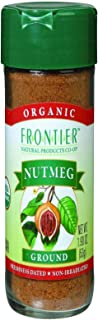Frontier Natural Products Nutmeg, Og, Ground, 1.90-Ounce