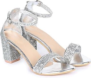 Shoepers Trendy block heels sandal for women and girls