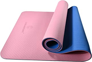 L LONGANCHANG Yogamat, TPE yogamat, gymnastiekmat, sportmat, fitnessmat, antislip, turnmat voor natuurlijk rubber, yoga, p...
