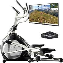 skandika Crosstrainer CardioCross Carbon Pro Ellipsentrainer mit 23,5kg Schwungmasse und..