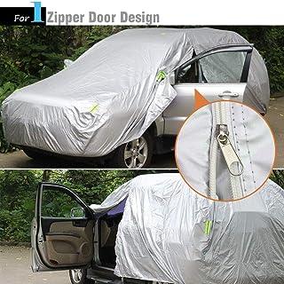 a995cff9c71 Cubierta del coche Cubierta impermeable del coche Cubierta protectora para  la lluvia Sun Rain Cubierta protectora