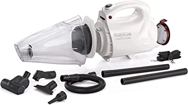 BLACK+DECKER VH802 800-Watt, 900ml dustbowl,150 Air Watts High Suction Bagless Dustbuster Vacuum Cleaner and Blower with 8...