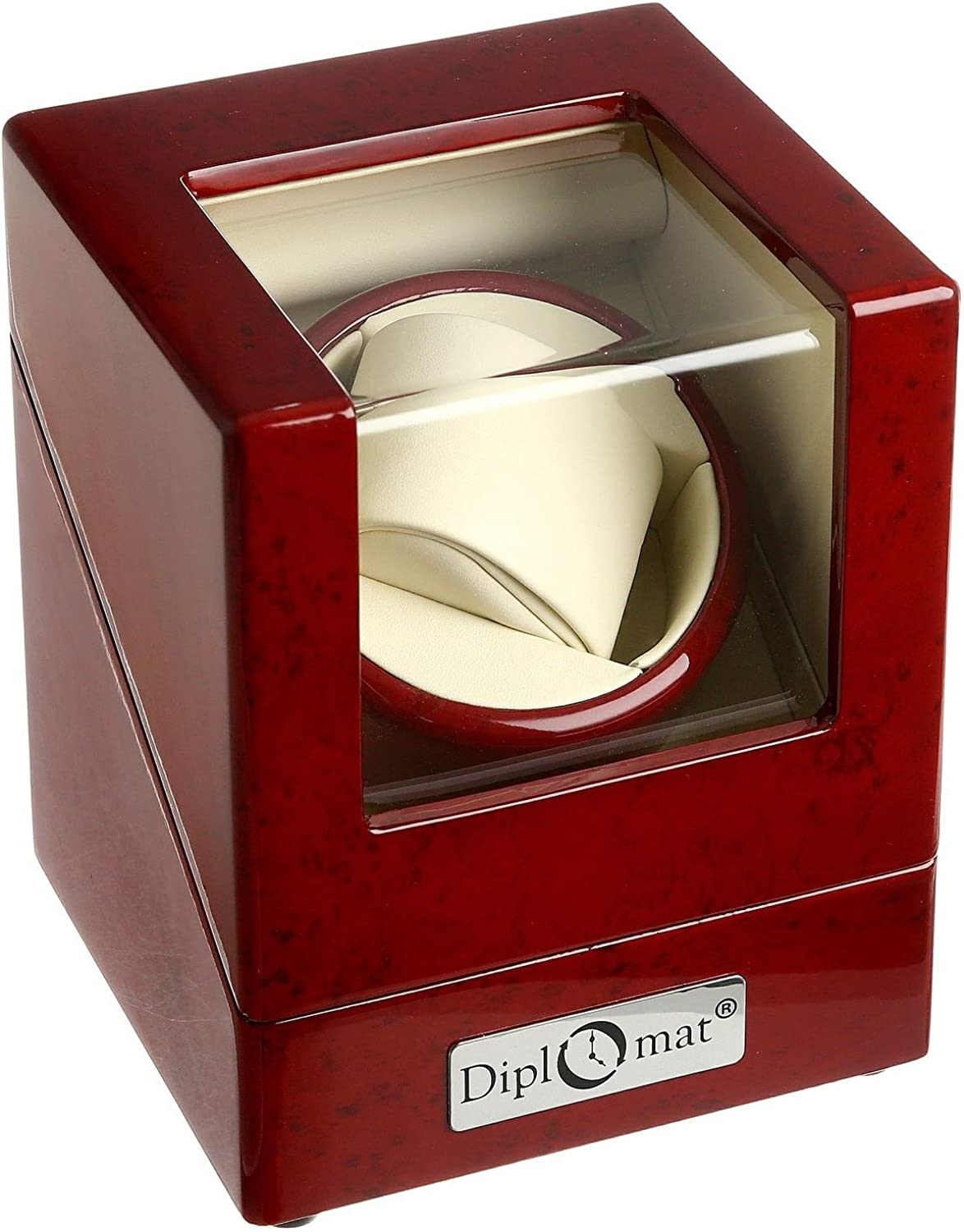 Max 75% OFF Diplomat 31-405 Cherry Wood Watch Single Winder Dealing full price reduction