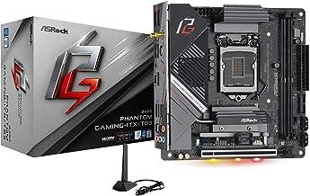 Asrock Z490 Phantom Gaming ITX/TB3 Supports 10 th Gen and Future Generation Intel Core Motherboard Processors (Socket 1200...