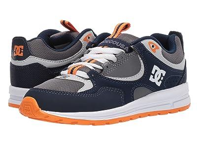 DC Kids Kalis Lite (Big Kid) (Navy/Grey) Boys Shoes