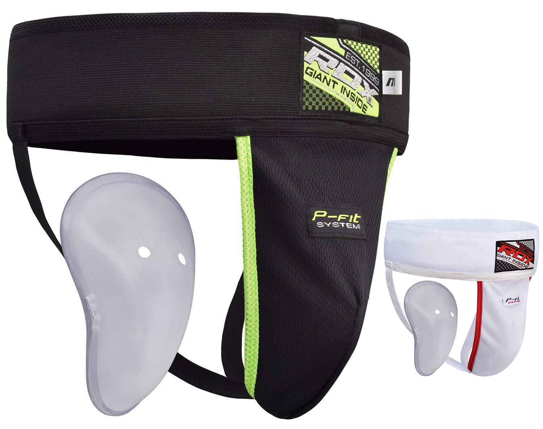 Groin//Abdominal guard Box Protector Muay thai Cricket hockey box black kids//Adult groin box