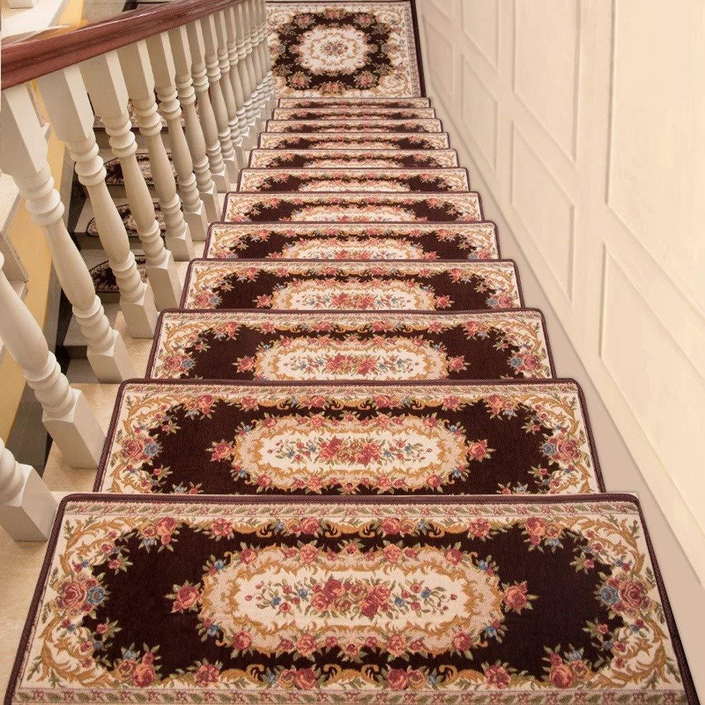 HSBAIS Alfombras de Escalera Antideslizantes, Lavable Alfombras para Escalera Interior Exterior Alfombras Durable Decoración del hogar Alfombrillas para peldaños,I_20 Pieces Set: Amazon.es: Hogar