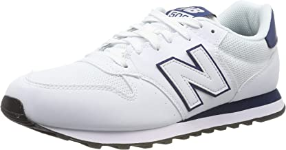 new balance 500 hombres blancas
