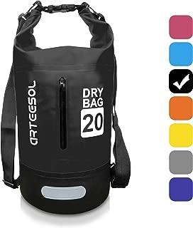 Bolsa Estanca impermeable BKSTONE Bolsa para Material 5L / 10L / 20L / 30L Bolsa Seca para Kayak, Playa, Rafting, Canotaje, Senderismo, Camping y Pesca