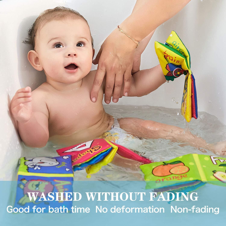 Top Brillante Soft libri per bambini Baby Toys 6 a 12 mesi Ragazze Crinkle Books