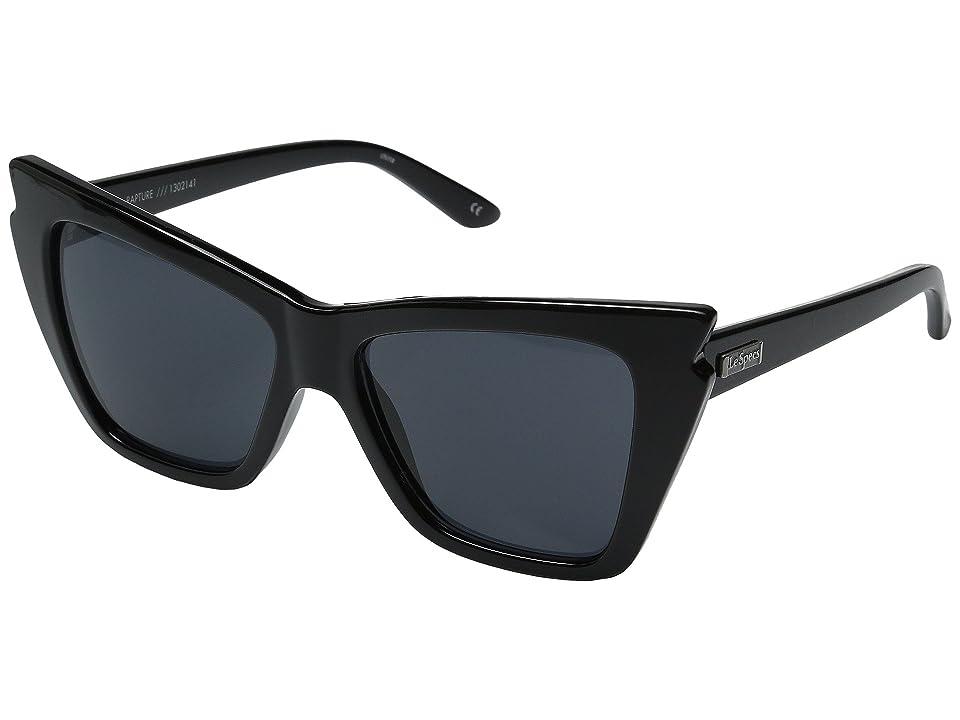 Le Specs Rapture (Black) Fashion Sunglasses