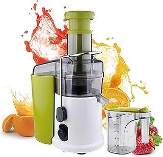 Extracteur de jus, alimentation 600W, extracteur facile à nettoyer Press Centrifugal Machine de jus de fruits, Juicer cent...