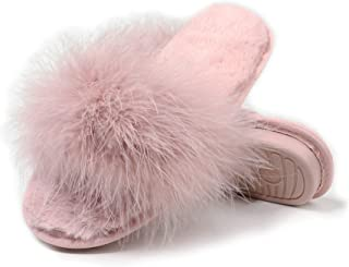 Best furry slippers pink Reviews