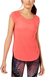 CALVIN KLEIN Women's Epic Tee with Cross Back, Pink (