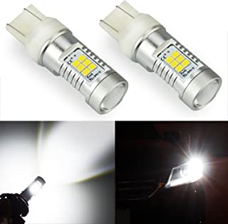 JDM ASTAR 1260 Lumens Extremely Bright PX Chips 7440 7441 7443 7444 992 LED Bulbs,Xenon White