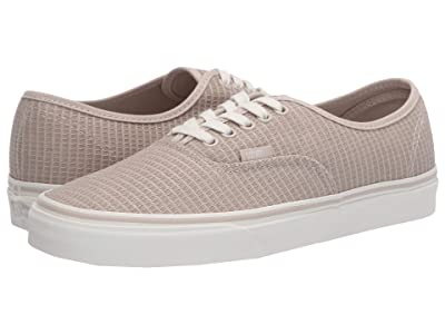 Vans Authentictm ((Multi Woven) Rainy Day/Snow White) Skate Shoes