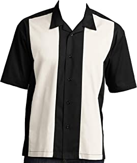Good Life Relaxed Fit Men's Retro Bowling Camp Shirts