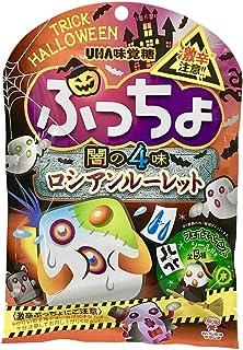 味覚糖 ぷっちょ 闇の4味 ロシアンルーレット 62gx6袋セット