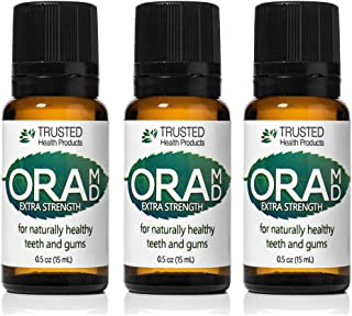OraMD Extra Strength – Gingivitis, Bleeding Gums – Superior Toothpaste and Mouthwash Alternative – 100% Pure Essential Oils – Dentist Recommended for Over 15 Years