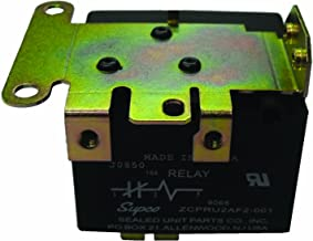 Supco 9068 Potential Relay, 35 A at 277 VAC Contact Rating, 50/60 hz Cycle, 502 V Continuous Coil Voltage, 325/345 Pick-Up Min/Max, 135 Drop Max