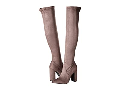 Steve Madden Gorgeena Over the Knee Boot (Dark Grey) Women