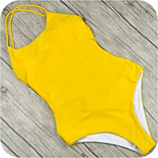 Women One Piece Swimsuit Sexy Bodysuit Swimwear Monokini Bathing Suits