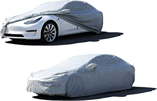 XtremeCoverPro 2018 2019 Tesla Model 3 Sedan Car Cover UV Protection Vehicle Accessories Breathable Car Cover Indoor Outdoor Protection
