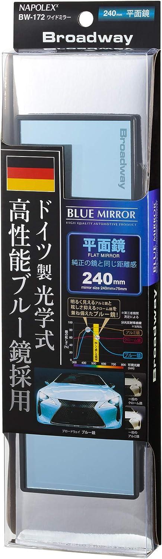 NAPOLEX 高品質新品 Broadway BW172 Blue Glass Wide 日本産 9.45