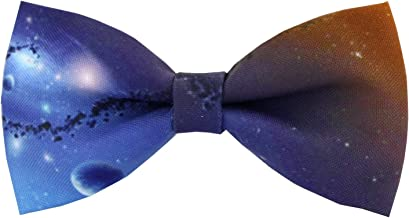 Mumusung Boy's Starry Sky Core Solid Bowtie