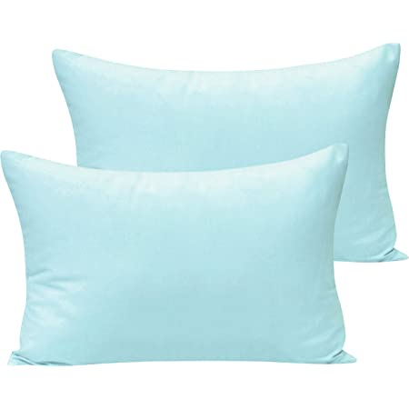 Baby Toddler Pillowcase 2 Pack 14 X 19 White 100/% Cotton Ultra Soft Machine Washable Travel Pillowcase Fit Toddler Pillow 13 x 18 or 14 x 18 for Boys and Girls