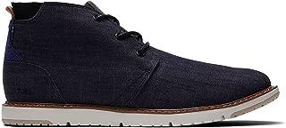 Mens Distressed Leather Navi Boot, Adult, Black