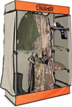 Scent Crusher Flexible Hunter Closet with Ozone Generator, Destroys Odors Within 30 mins, Great for Storage in Basements, Garages & Hunting Camps